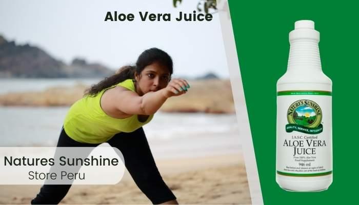 Aloe Vera Juice Natures Sunshine